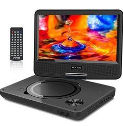 Μεταφέρετε ένα φορητό DVD player με 270 °