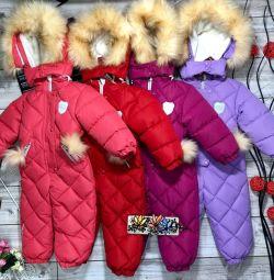Χειμερινά κοστούμια για κορίτσια