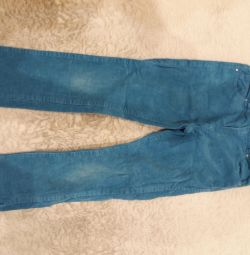 Corduroy pants 122cm
