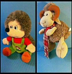 Musical Hedgehog and Lamb new