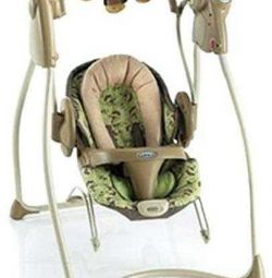 Graco swing with adapter