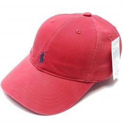 Καπέλο μπέιζμπολ Polo Ralph Lauren (κόκκινο)