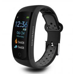 🔥 Smart Bracelet ceas Q6S Gri IP68 3D Nou