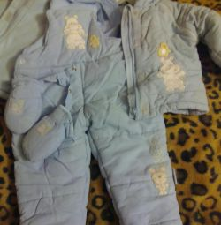 Winter costume for 10-12 months.