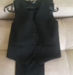 Κοστούμι δύο νέα αύξηση 134 + δώρο