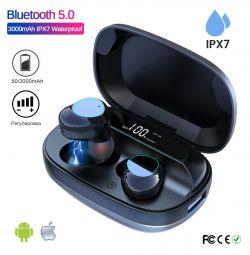🔥 Ακουστικά TWS G16 BT5.0 Αισθητήρας IPX7 3000mAh