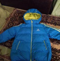 Jachetă în jos Adidas înălțime 104