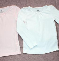 Bluze 116-122 cm
