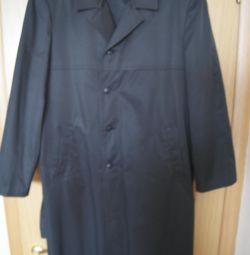 Cloak demi-season. military USSR p.54-56 rost182 Measurement