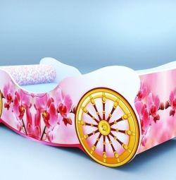 ΝΕΟ. BED Carriage + στρώμα