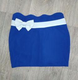 Mini skirt, + gift