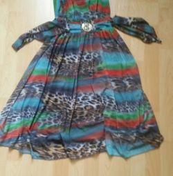 Φόρεμα με τραίνο και sarafan