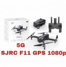 Quadcopter SJRC F11 GPS 1080p 5G