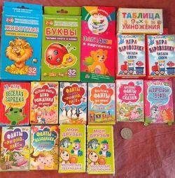Карточки обучающие и игровые для детей и взрослых