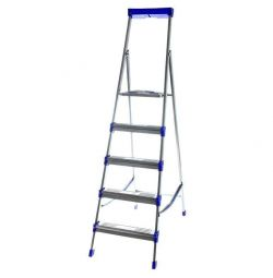 Stepladder Nick 5 steps metal, new