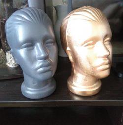Χρώμα κεφάλι μανεκέν