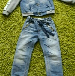 Costum de denim