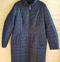 Synthetic women's coat