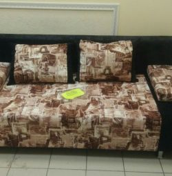 New sofa with pillows