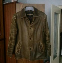 Jacket for men, natures. leather