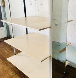 Rack three shelves