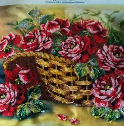 I embroider to order