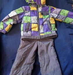 Costum de toamnă pe băiatul r. 92