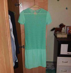 Шифоновон платье. Шикарно в своей простоте.