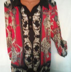 Блуза туника новая, р. 58-60