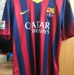 T-shirt of FC Barcelona.