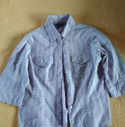 Cămașă din bumbac din bluză