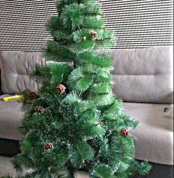 New Year's fluffy fir-tree spruce pine 150cm
