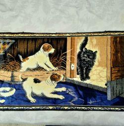 Картина,настенное панно,коврик, времён СССР
