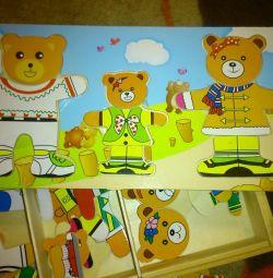 Children's game ODE BEARS