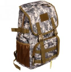 Backpack tourist 16l camouflage - Figure