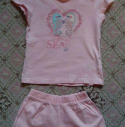 Παιδικά ρούχα 6τμ ανά κορίτσι 92-96cm