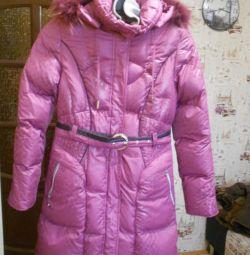 Jachetă în jos pentru fete