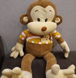 Soft toy monkey