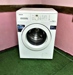 SAMSUNG washing machine 6kg. Warranty, Delivery