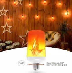 Un nou efect de incendiu la lampă