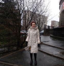 Γυναικείο παλτό χειμώνα Mishele 42-44