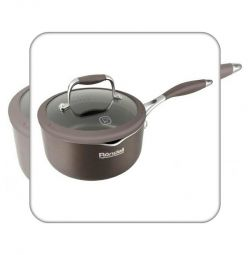 Ladle with / kr 16 cm 1,1 l Mocaccino Rondell