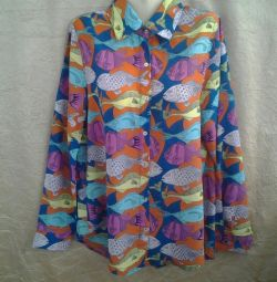 Shirt cotton M (44-46)