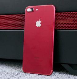 IPhone 7+ 128 Gb kırmızı