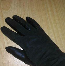 Γάντια σουέντ