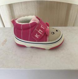 Footwear for the girl new KAPITOSHKA