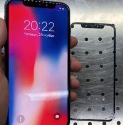 Γυαλί στο iPhone X / iPhone X Αντικατάσταση γυαλιού