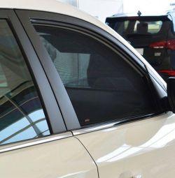 Каркасні шторки на Suzuki sx4 (друге покоління)