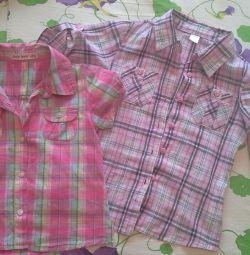 Çocuk gömlekleri 104-110cm