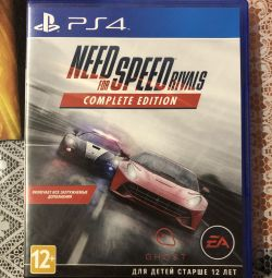 """Игра на ps4 """"Need for speed rivals"""""""